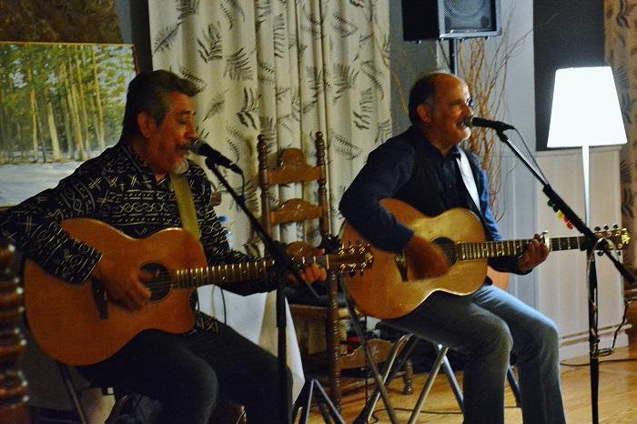 Marco R. Wagner y Jeff Espinoza