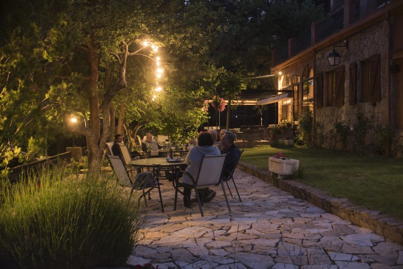 Hostal Almanzor Jardín