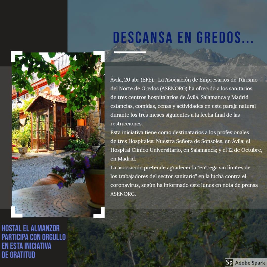 descansa en Gredos